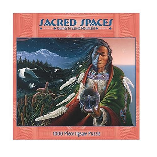 Sacred Spaces 1000-Piece Puzzle - Journey To Sacred Mountain - 1