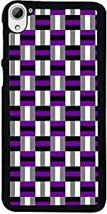 PrintVisa Pattern Checks Back Cover for HTC Desire 826 (2D-HTCD826-D7922)