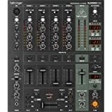 Behringer Pro Mixer DJX900USB Professioneller 5-Kanal DJ Mixer mit infinium Contact-Free VCA Crossfader, Advanced Digital Effects und USB/Audio Interface