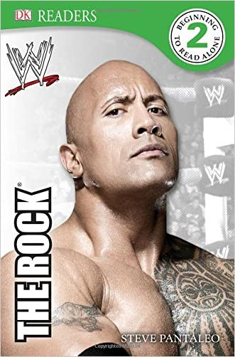 DK Reader Level 2:  WWE The Rock (DK Readers: Level 2) written by Steve Pantaleo