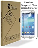 Fenix - Samsung Galaxy Mega 2 Premium Tempered Glass Screen Protector with Ultra High Definition Invisible and Anti-Bubble Crystal Shield