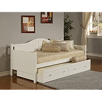 Hillsdale Staci Daybed w/Trundle - White