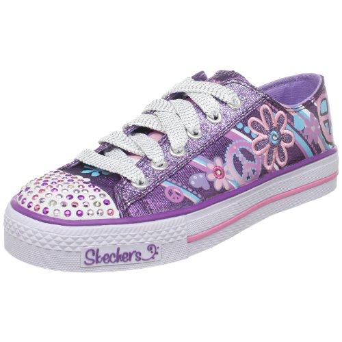 Skechers Twinkle Toes Groovy Baby Light Up Sneaker Little