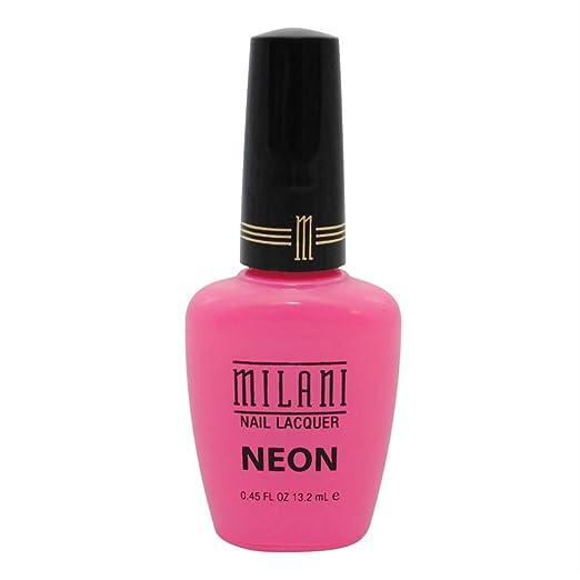 Great photo of milani neon polish