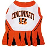 Mirage Pet Products Sports Dog Apparel Pet Costume Cincinnati Bengals Cheerleading Dress Uniform SM