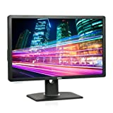 Dell Professional P2412H (24 inch) Full HD LED Monitor 1000:1 250cd/m2 1920x1080 5ms DVI-D/VGA (Black) (P2412H)