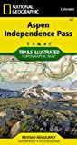 Aspen, Independence Pass (National Geographic: Trails Illustrated Map #127) (National Geographic Maps: Trails Illustrated)