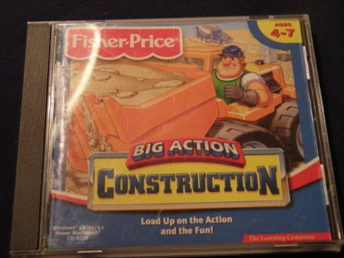 Big Action Construction Ages 4-7 front-655749