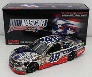 JIMMIE JOHNSON 2013 AMERICAN SALUTE 1:24 COLOR CHROME NASCAR DIECAST by NASACAR Diecast