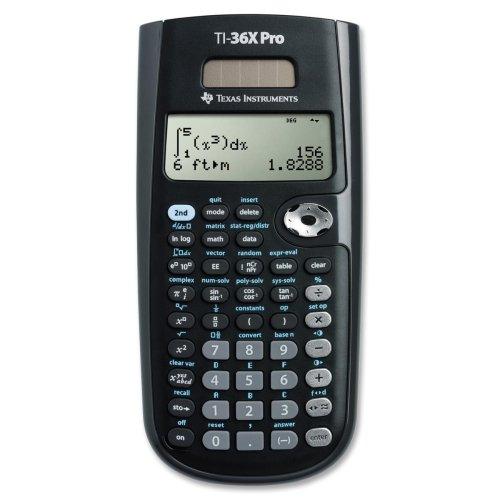 033317203666 - Texas Instruments 36PRO/TBL/1L1/A TI 36X Pro Scientific Calc carousel main 0