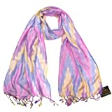 Beautiful Zig Zag Women Scarf - Long ikat design ladies scarf