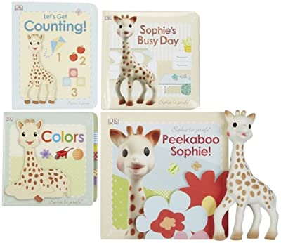 Vulli Sophie the Giraffe Book & Teether Bundle by Vulli