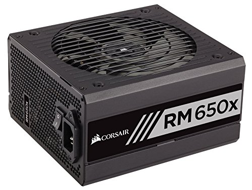 Corsair RMx Series, RM650x, 650W, Fully Modular Power Supply, 80+ Gold Certified (650w Psu Modular compare prices)