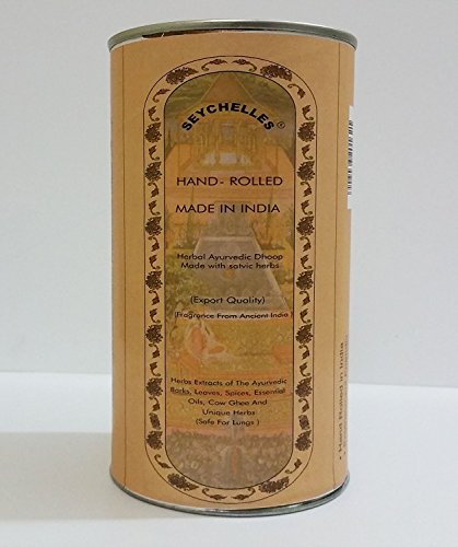 Seychelles Pure Special Herbal Ayurvedic Dhoop Pack Of 10