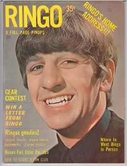 RINGO STARR Teen Screen Life Story Magazine THE BEATLES ...  RINGO STARR Tee...
