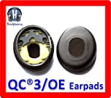 Ear Pads For Bose QuietComfort® QC3/On-Ear Headphones [by Headphonics]