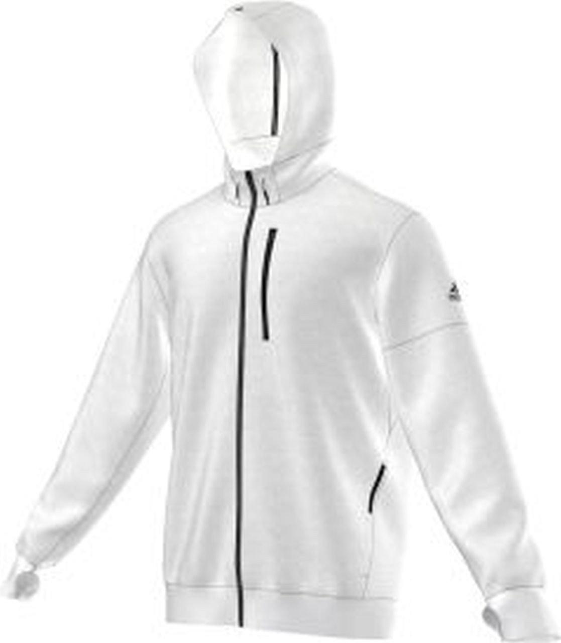 Adidas Premium Hoody – white/black günstig bestellen