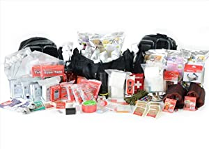 Cold Weather Emergency Bug Out Bag - Premium 4 Person Family Go Pack - Preparedness... by Legacy Premium Food Storage