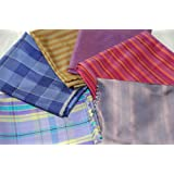 Plaid and Stripe Fat Quarters Bundle