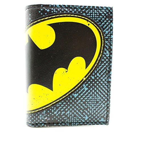 DC Comics Batman Logo Multicolore portafoglio