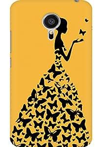 AMEZ designer printed 3d premium high quality back case cover for Meizu MX5 (skin colour princess)