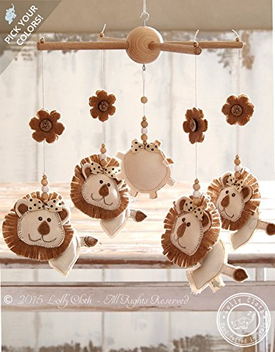 lion-mobile-personalized-baby-mobile-gender-neutral-baby-nursery-mobile-hanging-free-upgrade-to-expe