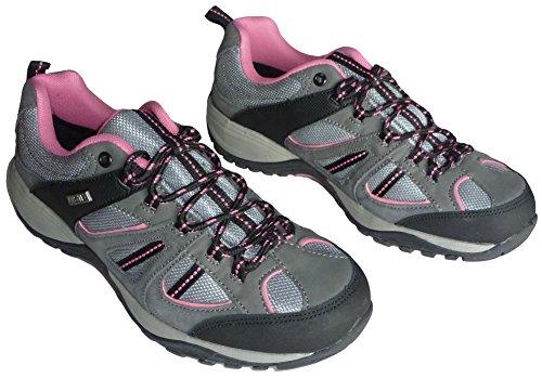 Damen Trekkingschuhe Wandernschuhe Schuhe gr. 38 grau-pink