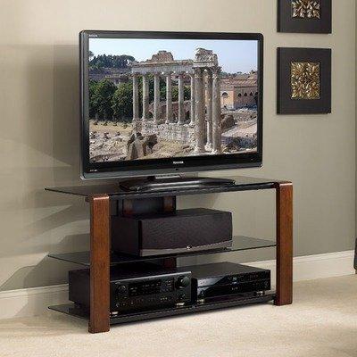Cheap 44″ Flat Panel TV Stand in Medium Espresso (NT2145)