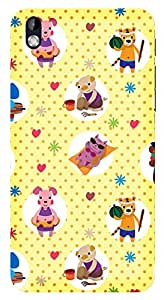 WOW Printed Designer Mobile Case Back Cover For HTC DESIRE 816 / 816G
