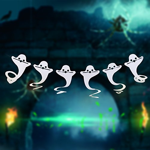 [Alinktrend Vintage Durable Halloween Christmas Decoration- Adorable Felt Banners Garlands Decor for Halloween] (Fun Cheap Easy Halloween Costumes)