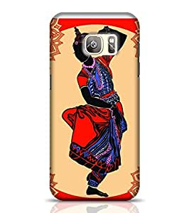 Stylebaby Indian Woman Traditional Dancing Samsung Galaxy S7 Edge Phone Case