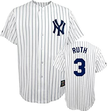 Babe Ruth Majestic Cooperstown Throwback New York Yankees Jersey by Majestic