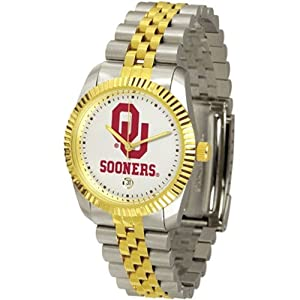 Oklahoma Sooners Executive AnoChrome Mens Watch by SunTime