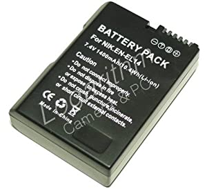 PowerFirst EN-EL14互換バッテリー【ネットショップ ロガリズム】EN-EL14