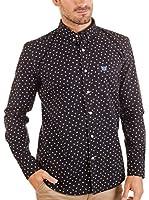 BENDORFF Camisa Hombre (Azul / Blanco)