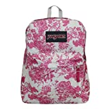 Jansport - Unisex-Adult Black Label Superbreak Backpack, Size: O/S, Color: Berrylicious Vintage Floral Canvas