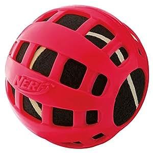 """Amazon.com : Flotador pelota de tenis, 2.5 """", Rojo / Azul : Pet"""