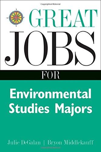 Great Jobs For Environmental Studies Majors