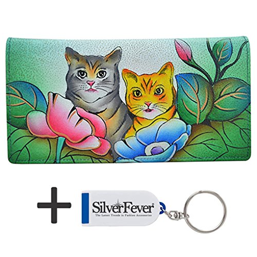 anna-by-anuschka-ladies-wallet-key-chain-2-fold-3-id-two-cats