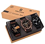 #9: Decode Analogue Analogue Multi-color Dial Men's/Boy's Watch- Combo of 3 Fashionable watches