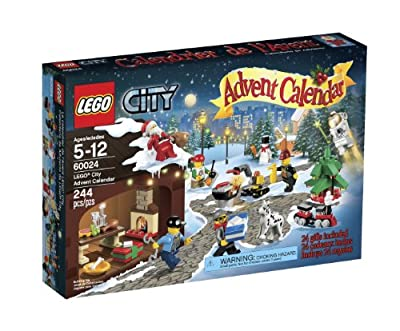 Lego 60024 City Advent Calendar from LEGO