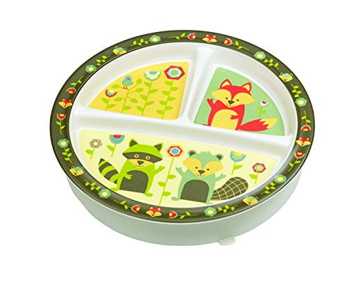 SugarBooger Divided Suction Plate, What did the Fox Eat