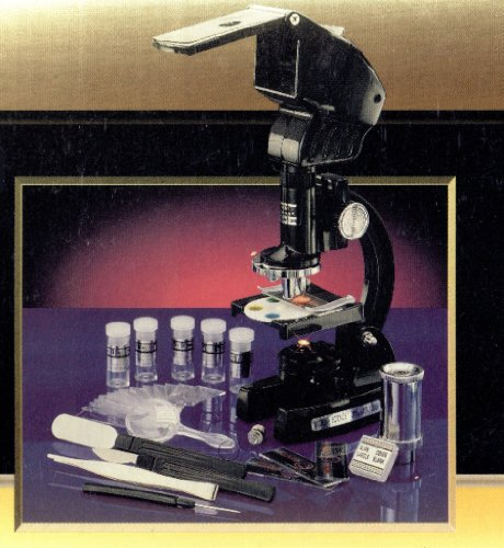 Micro-Science 36 Piece Microscope Set (200X, 600X & 1200X)