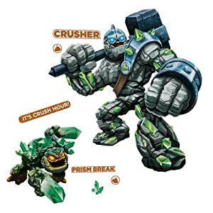 Crusher Y Prisma rotura pelar y pegar gigante Tatuajes de pared