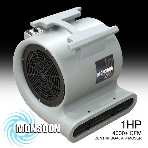 Air Foxx Carpet Floor Blower 4000 Cfm