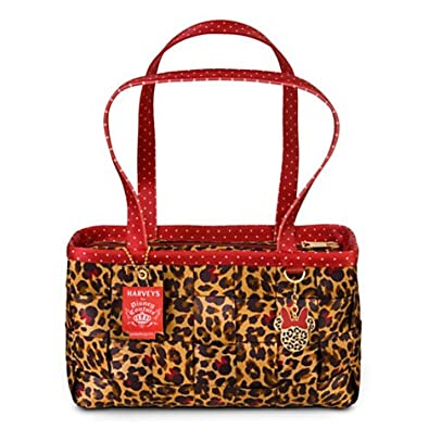 Disney's Minnie Mouse Leopard Large Satchel by Harveys Seatbelt Bags