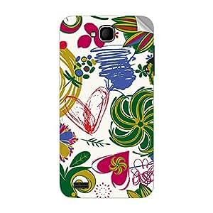 Garmor Designer Mobile Skin Sticker For XOLO Q800 - Mobile Sticker
