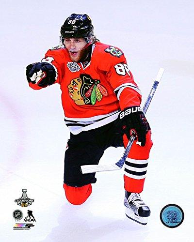 "Patrick Kane Chicago Blackhawks Goal Celebration Game 6 2015 Stanley Cup Finals (11"" x 14"")"