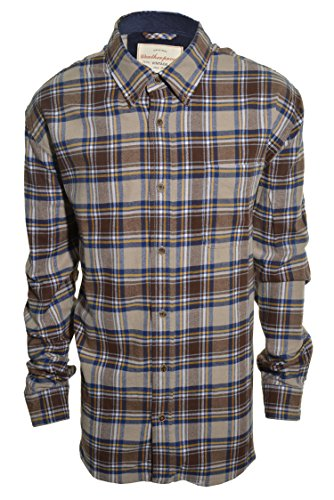 weatherproof vintage men 39 s lightweight flannel shirt