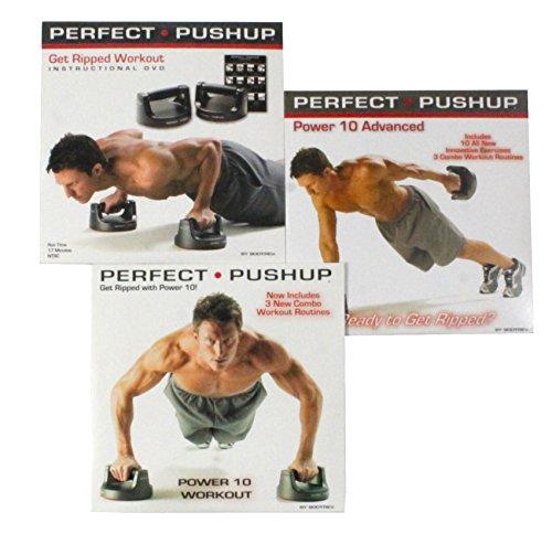 Perfect Pushup Brazilian Butt Lift DVD Combo Set